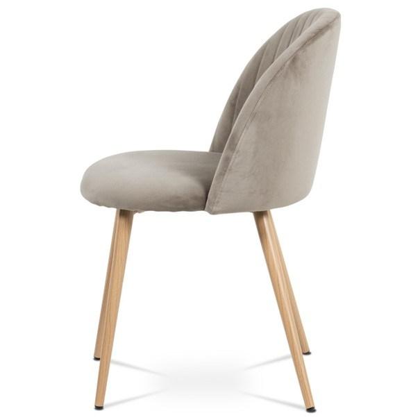 Jídelní židle KAISA dub/béžová 3