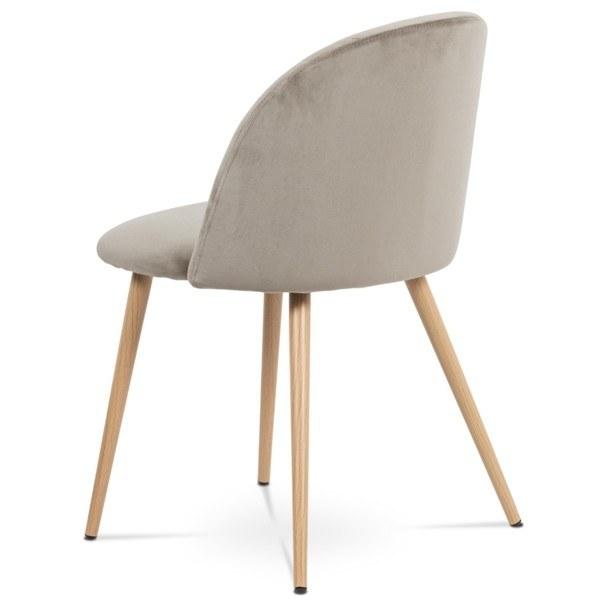 Jídelní židle KAISA dub/béžová 4