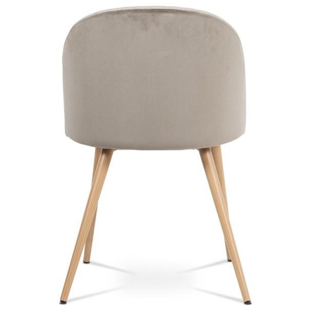 Jídelní židle KAISA dub/béžová 5