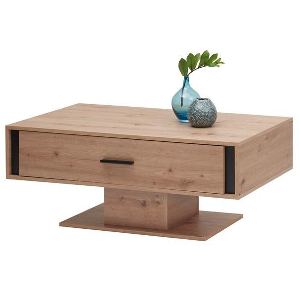 Konferenční stolek  KANADA  černá/dub artisan 1