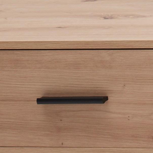 Konferenční stolek  KANADA  černá/dub artisan 4