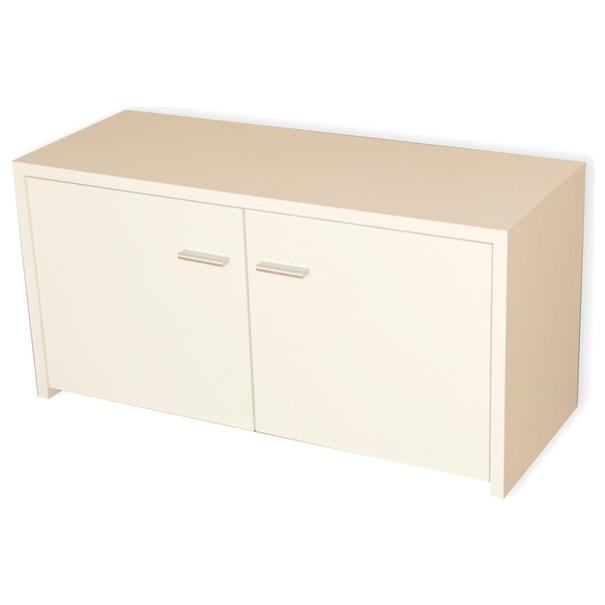 Botník/odkládací lavice KARLA bílá 1