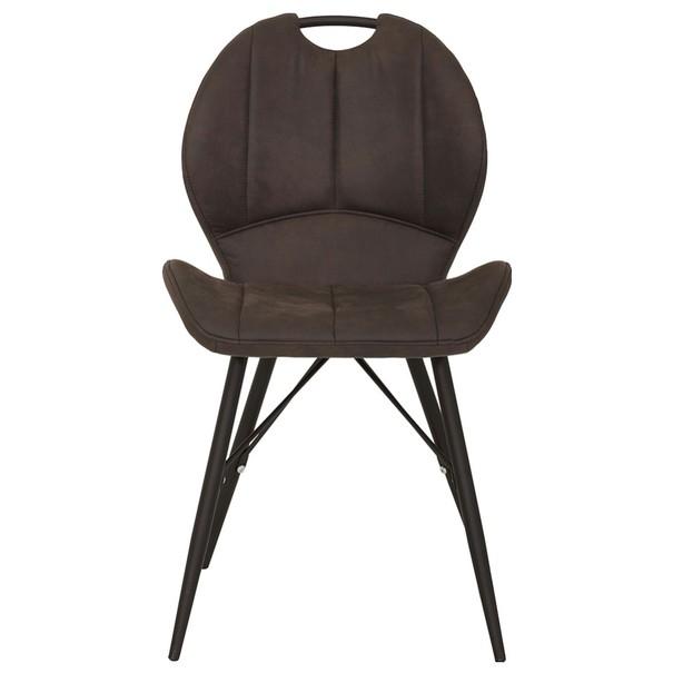 Jedálenská stolička KATE S antracitová 2