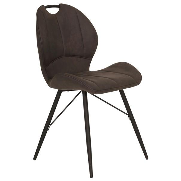 Jedálenská stolička KATE S antracitová 3