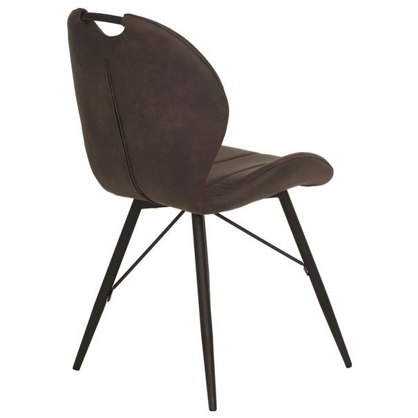 Jedálenská stolička KATE S antracitová 5