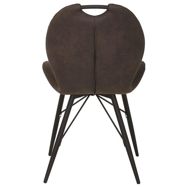 Jedálenská stolička KATE S antracitová 6