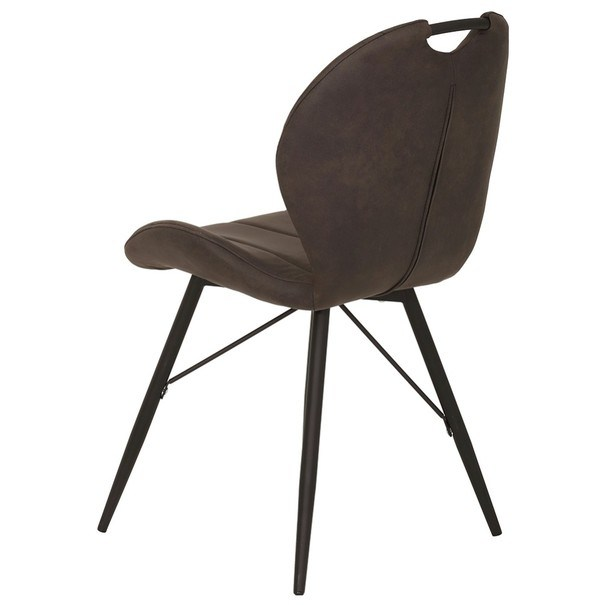 Jedálenská stolička KATE S antracitová 7
