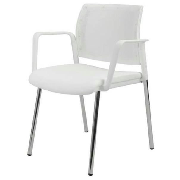 Konferenční židle KENTAUR bílá 1