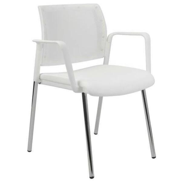 Konferenční židle KENTAUR bílá 2
