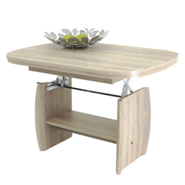 Konferenční stolek KIRK MINI dub sonoma 1