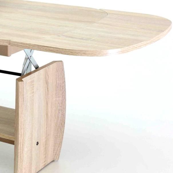 Konferenční stolek KIRK MINI dub sonoma 4