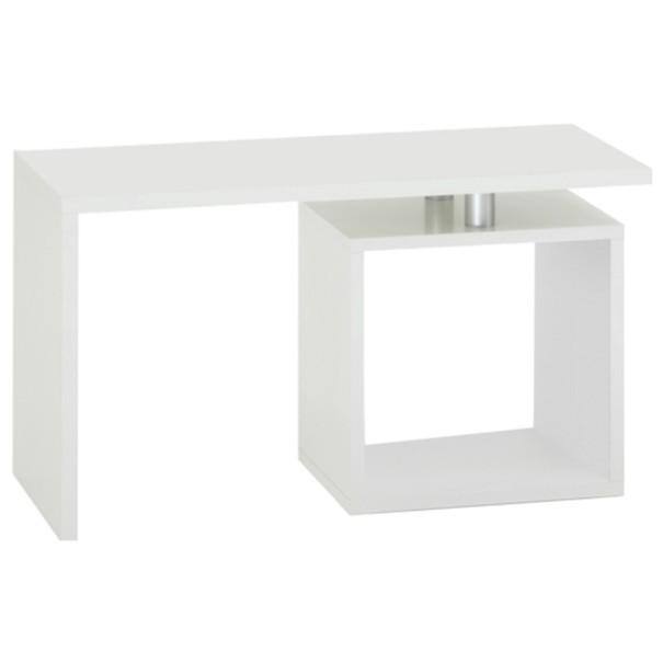 Přístavný stolek KLARA bílá 1