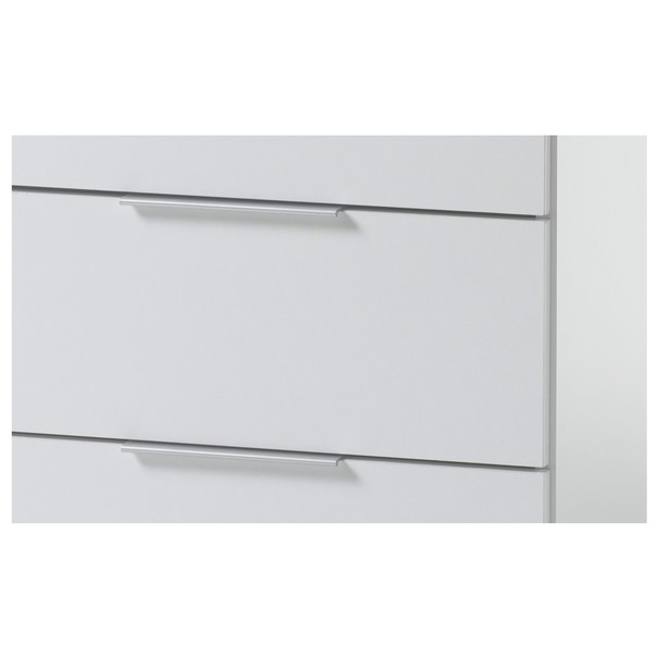 Noční stolek KORON 3 bílá 2