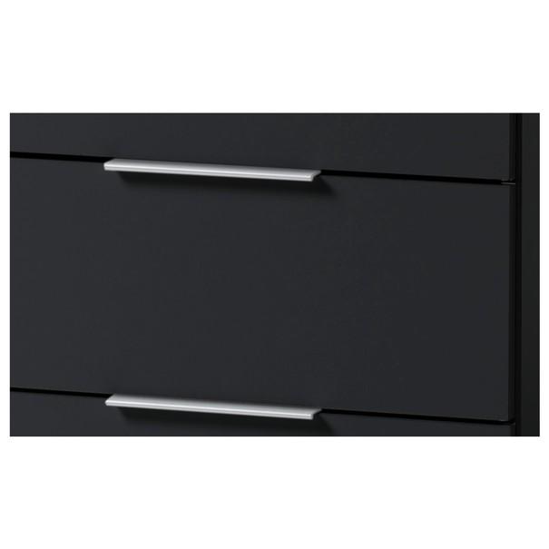 Noční stolek KORON 3 černá 2