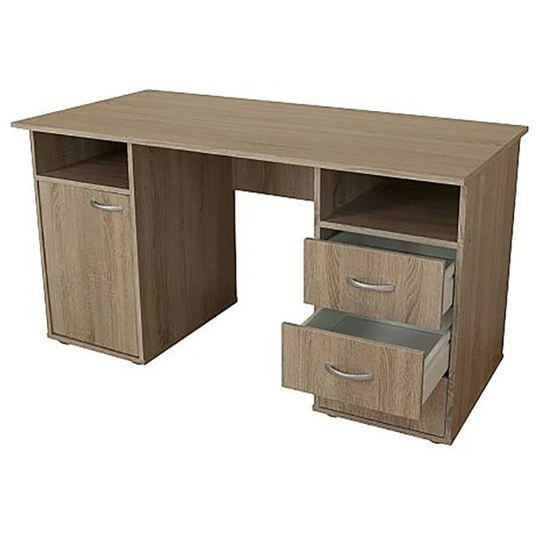 Písací stôl KUBA dub sonoma 2