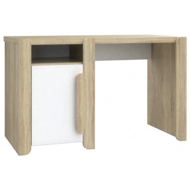 Písací stôl LACE LCXB21 dub sonoma/biela 1