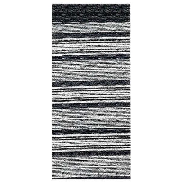 Sconto Koberec LAOS 3 černobílá, 75x160 cm - nábytek SCONTO nábytek.cz