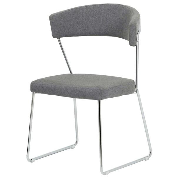 Jidelní židle LAURA šedá 1