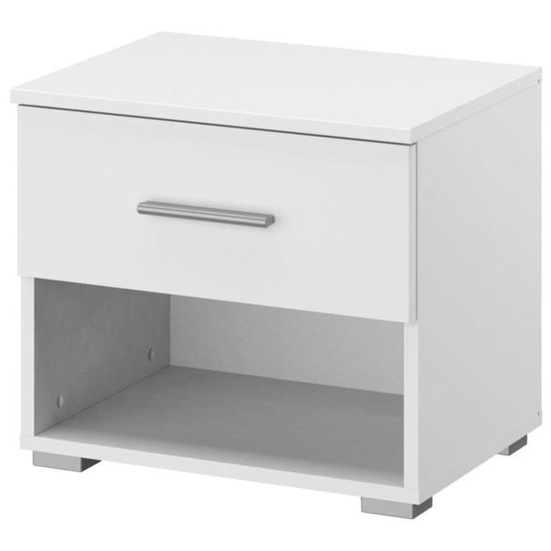 Noční stolek  LAVEEN bílá 1
