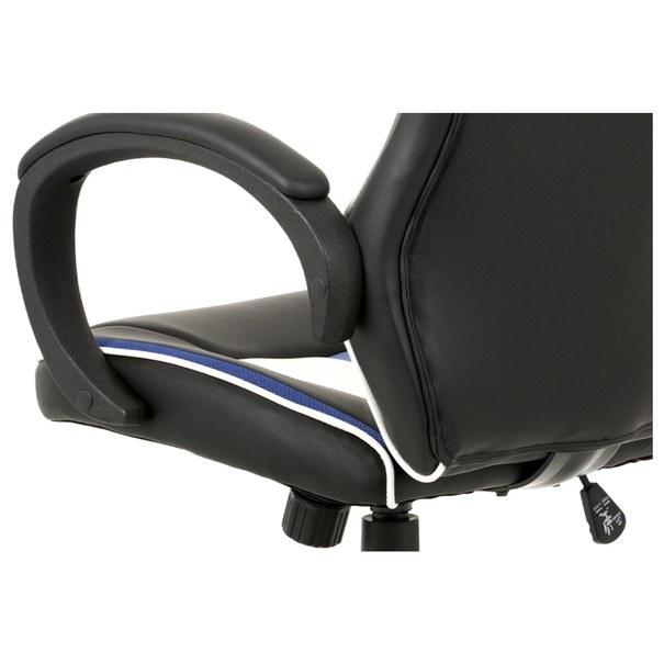Kancelářská židle LAWRENCE modrá/černá/bílá 6