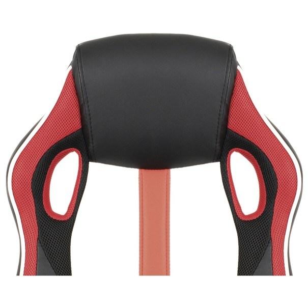 Kancelářská židle LAWRENCE červená/černá/bílá 11