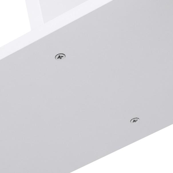 Regál/knihovna LBC61 bílá 9