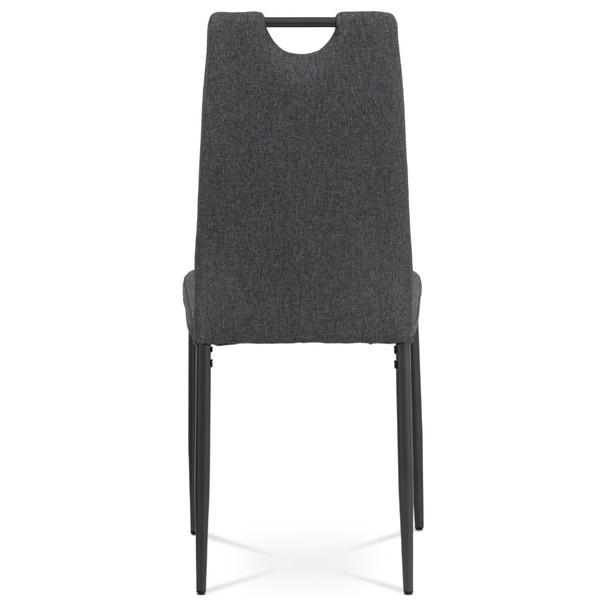 Jídelní židle LEILA šedá/antracitová 5