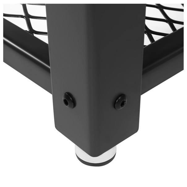 Přístavný stolek LET41X černá/přírodní 5