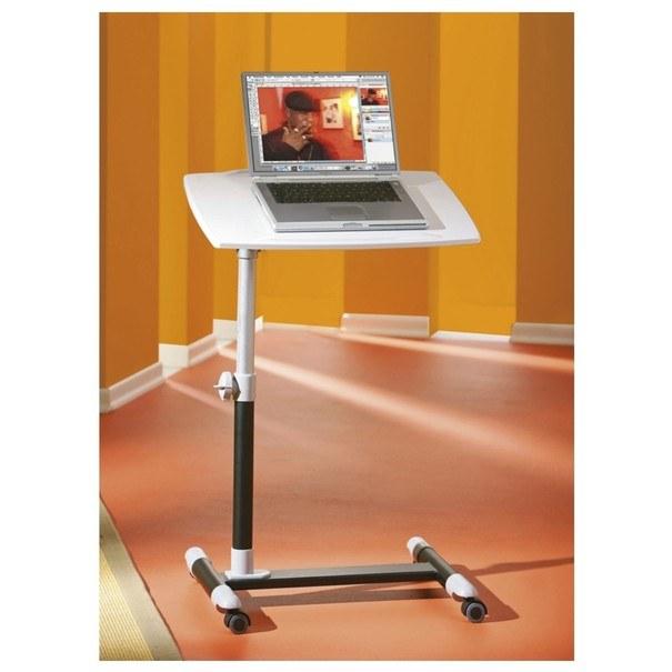 PC stůl LEXON bílá/černá 4