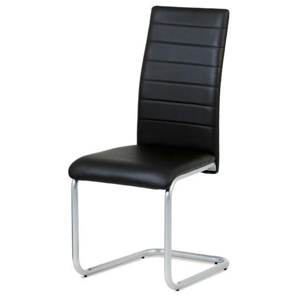 Jedálenská stolička LILY čierna 1