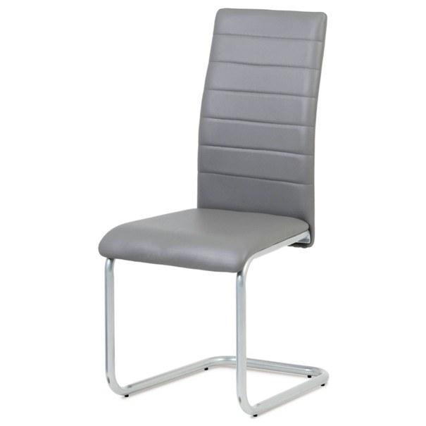 Jídelní židle LILY šedá 1