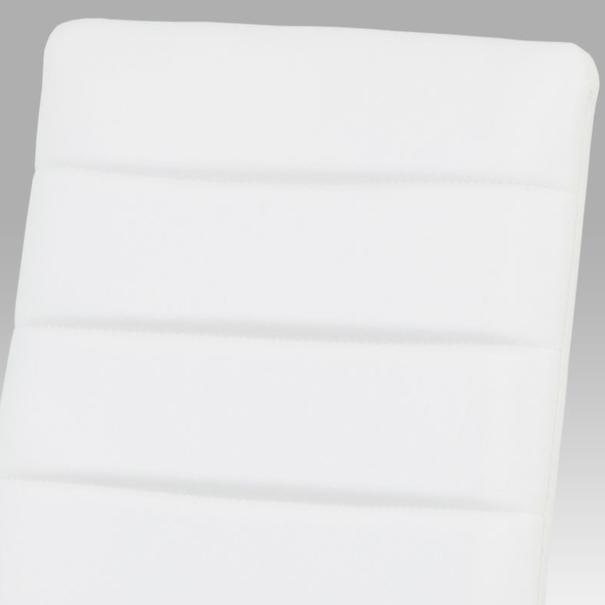 Jedálenská stolička LILY biela 3