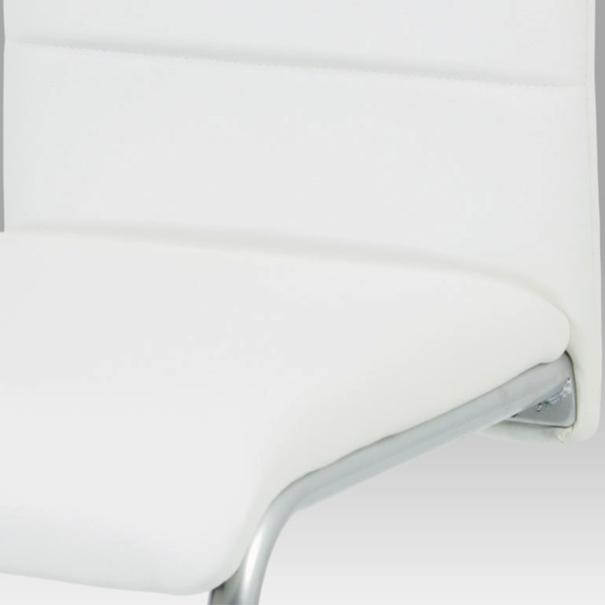 Jedálenská stolička LILY biela 4