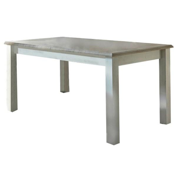 Jídelní stůl LIMA pinie/bílá 1
