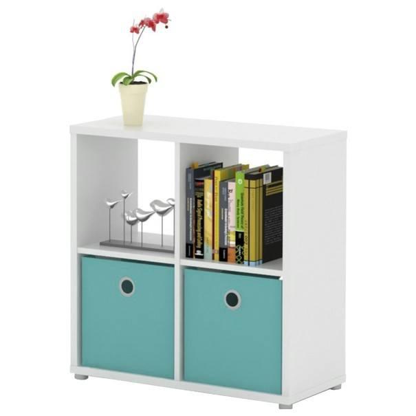 Regál/knihovna LITE RM22 bílá 1