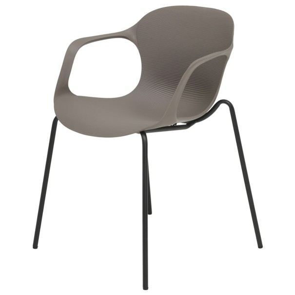 Jedálenská stolička LIV S kaki 1
