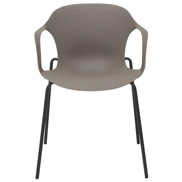 Jedálenská stolička LIV S kaki 2