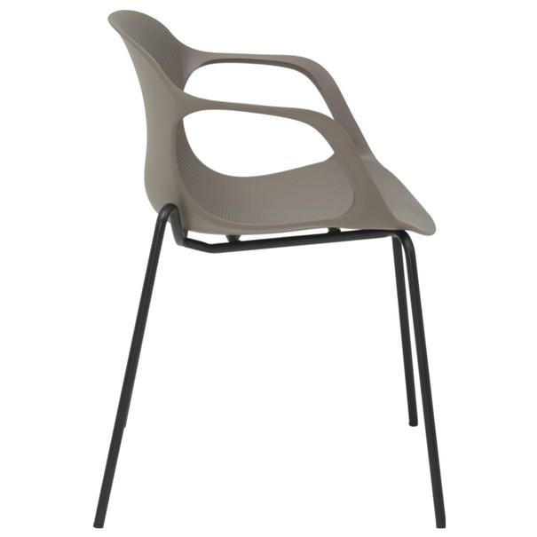 Jedálenská stolička LIV S kaki 3