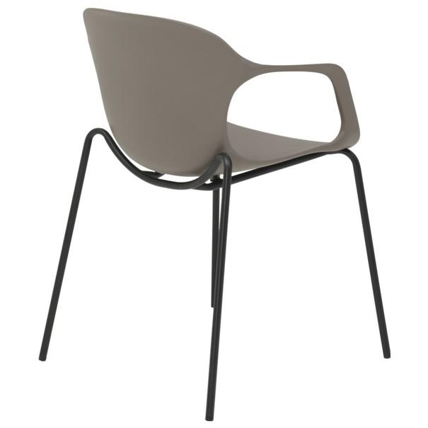 Jedálenská stolička LIV S kaki 4