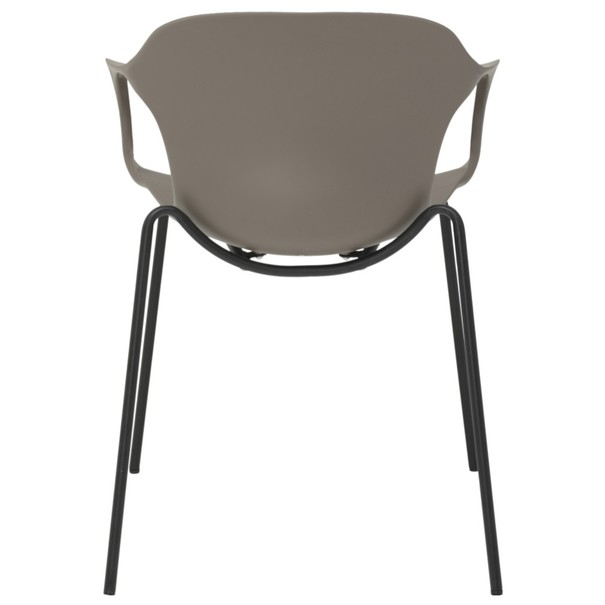 Jedálenská stolička LIV S kaki 5