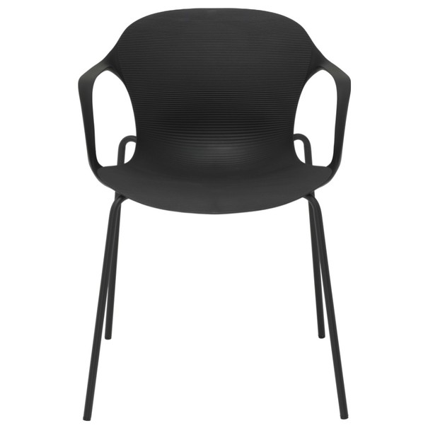 Jedálenská stolička LIV S čierna 2