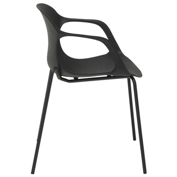 Jedálenská stolička LIV S čierna 3