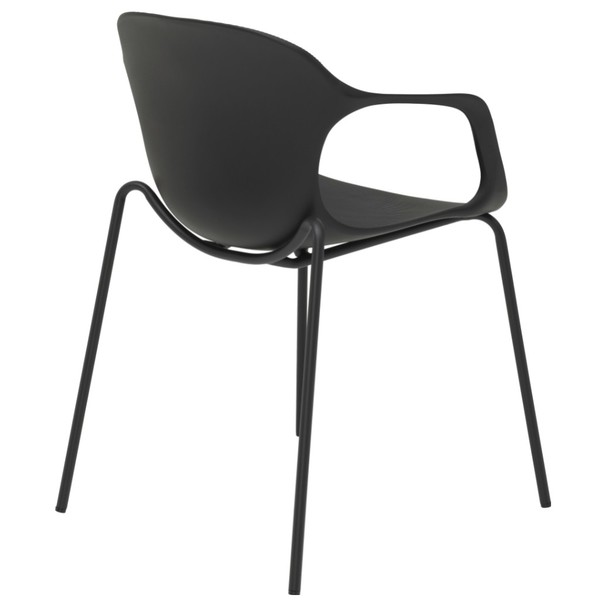Jedálenská stolička LIV S čierna 4