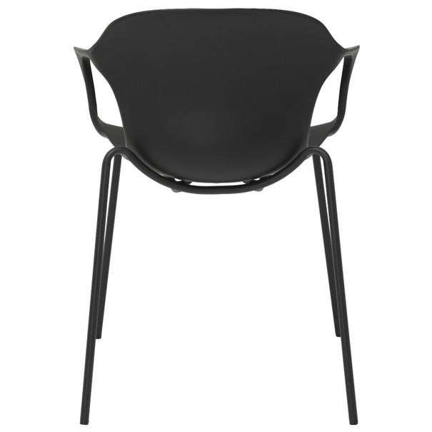 Jedálenská stolička LIV S čierna 5