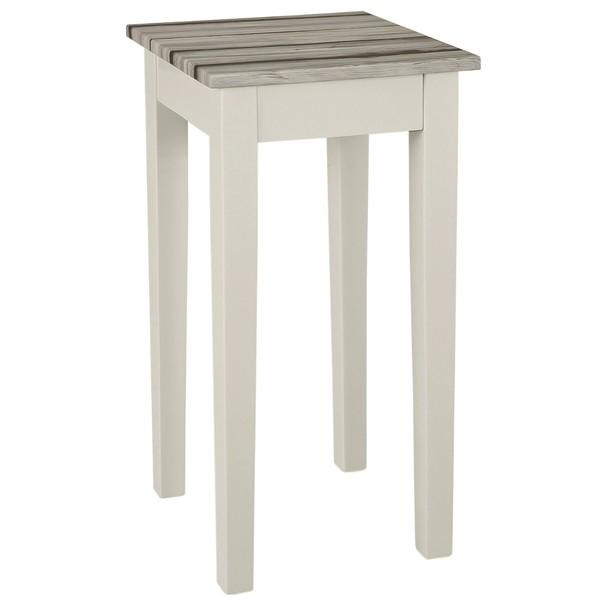 Přístavný stolek LIZA 3 maritimo borovice/bílá 1