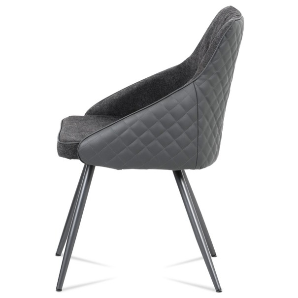 Jídelní židle LJUBA šedá 2