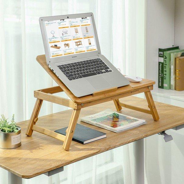Stolek na laptop LLD002 bambus 2
