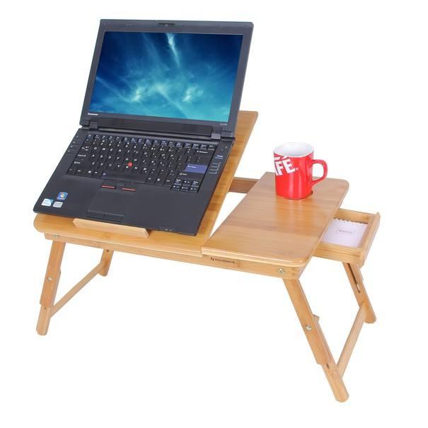 Stolek na laptop LLD002 bambus 5