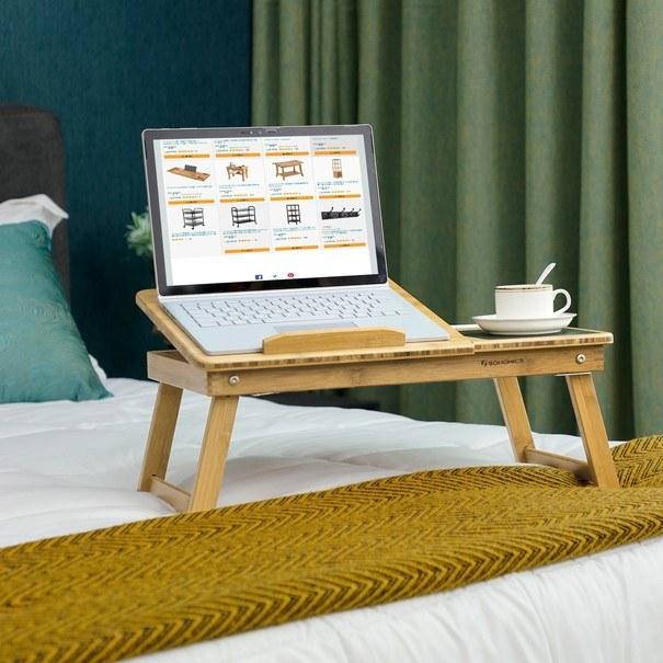Stolek na notebook LLD008 bambus 4