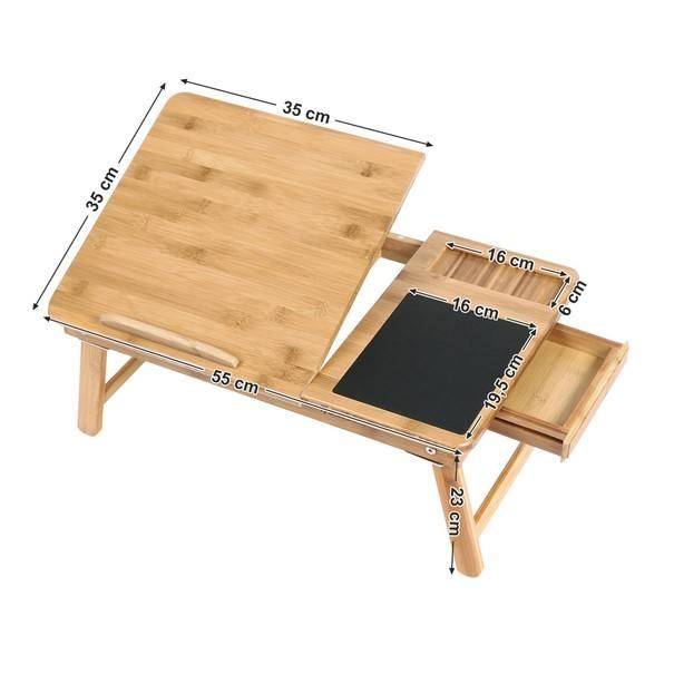 Stolek na notebook LLD008 bambus 8